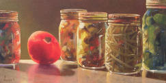 Fall Memories,realism,pickles,